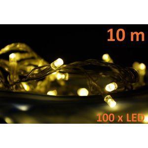 LED osvetlenie Garth 10 m - teplé biele, 100 diód