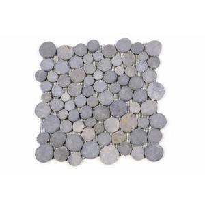 Mozaika Garth z andezitu - šedá obklady - 1x sieťka
