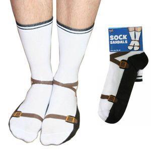 Bláznivé ponožky - sandály