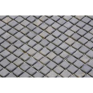 Mramorová mozaika Garth - sivá, obklady 1 m2
