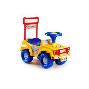 Yupee auto Jeep žluté 53,5x48,3x26cm