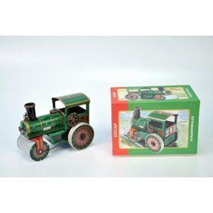 Parní válec silniční natahovací kov 18cm v krabičce Kovap, limitovaná edice
