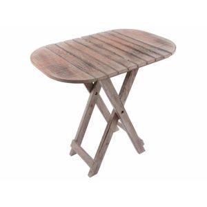 Skladací stôl DIVERO Vintage - 50 cm