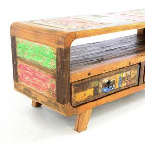 DIVERO skrinka z recyklovaného lodného dreva