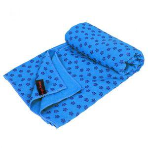 Protišmykový uterák na jógu - 183 x 61 cm, modrý